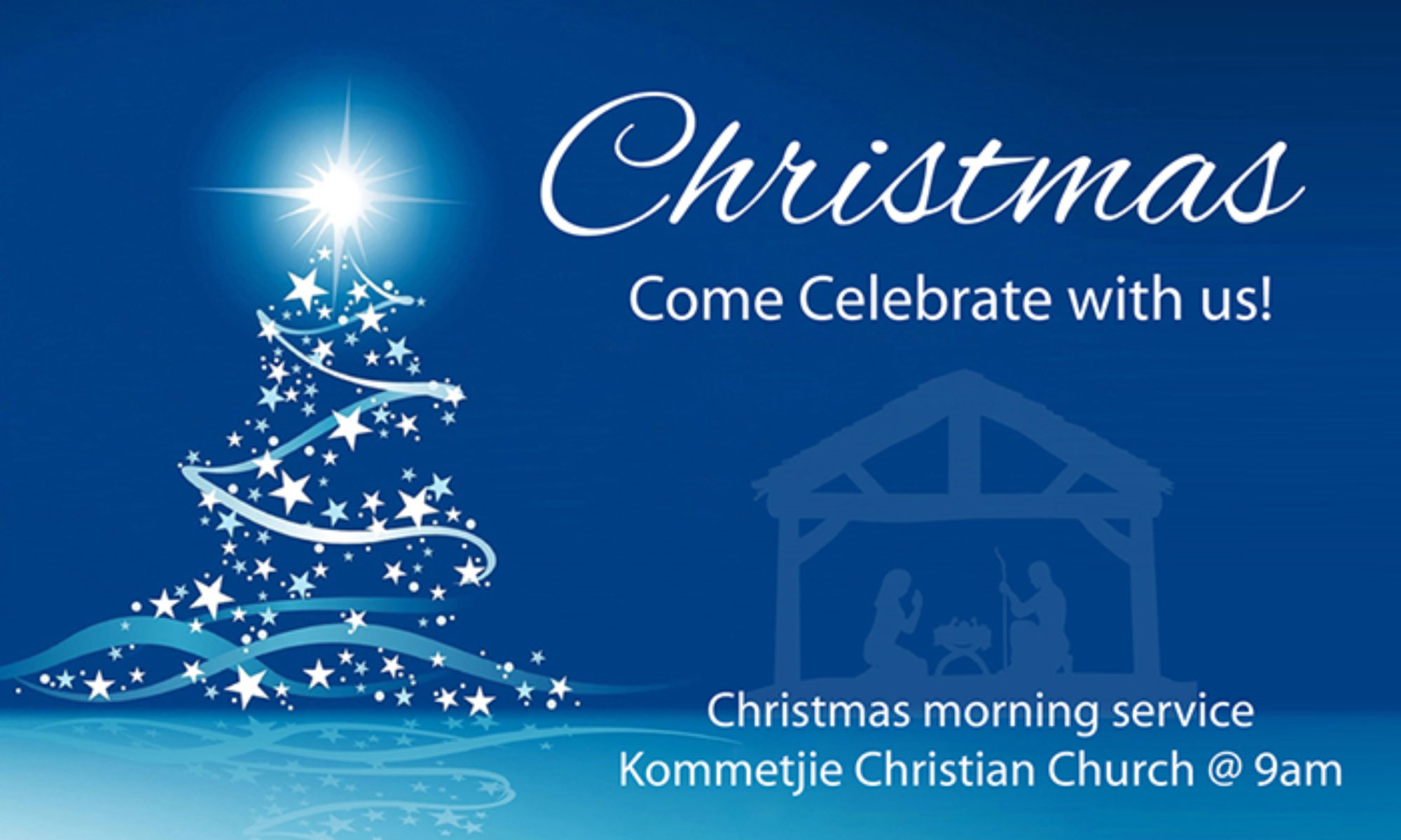 Christmas Day Service - Kommetjie, Cape Town